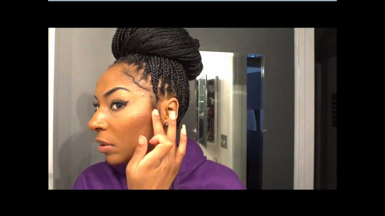 How To Style Your Braids Quick Styles Jamexicanbeauty