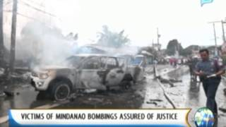 NewsLife: Victims of Mindanao bombings assured of justice || August 6, 2013