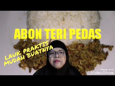 Resep Abon Teri Siap Saji Jadi Gak Ribet Bisa Disimpan Youtube
