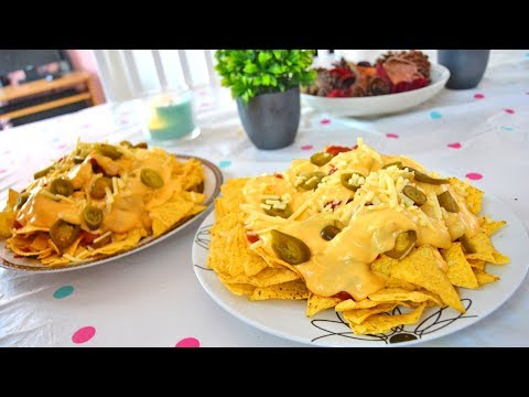 CINEMA-STYLE CHEESY NACHOS | COOK 'N' CHAT WITH SHAMSA