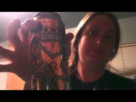 RockStar Ginger Brew Energy Drink~Eats