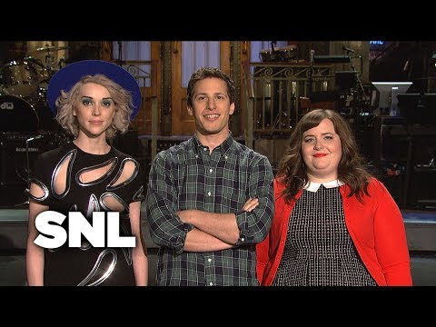 SNL Promo: Andy Samberg and St Vincent