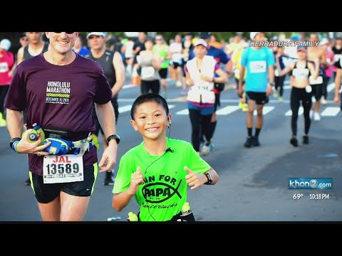 12-year-old completes third Honolulu Marathon in honor of late grandfather