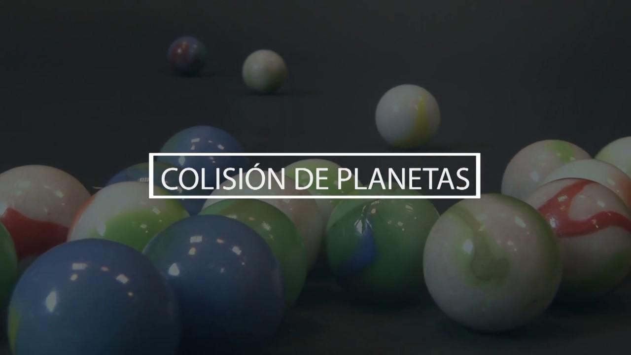 Colisión de planetas en el universo socialista