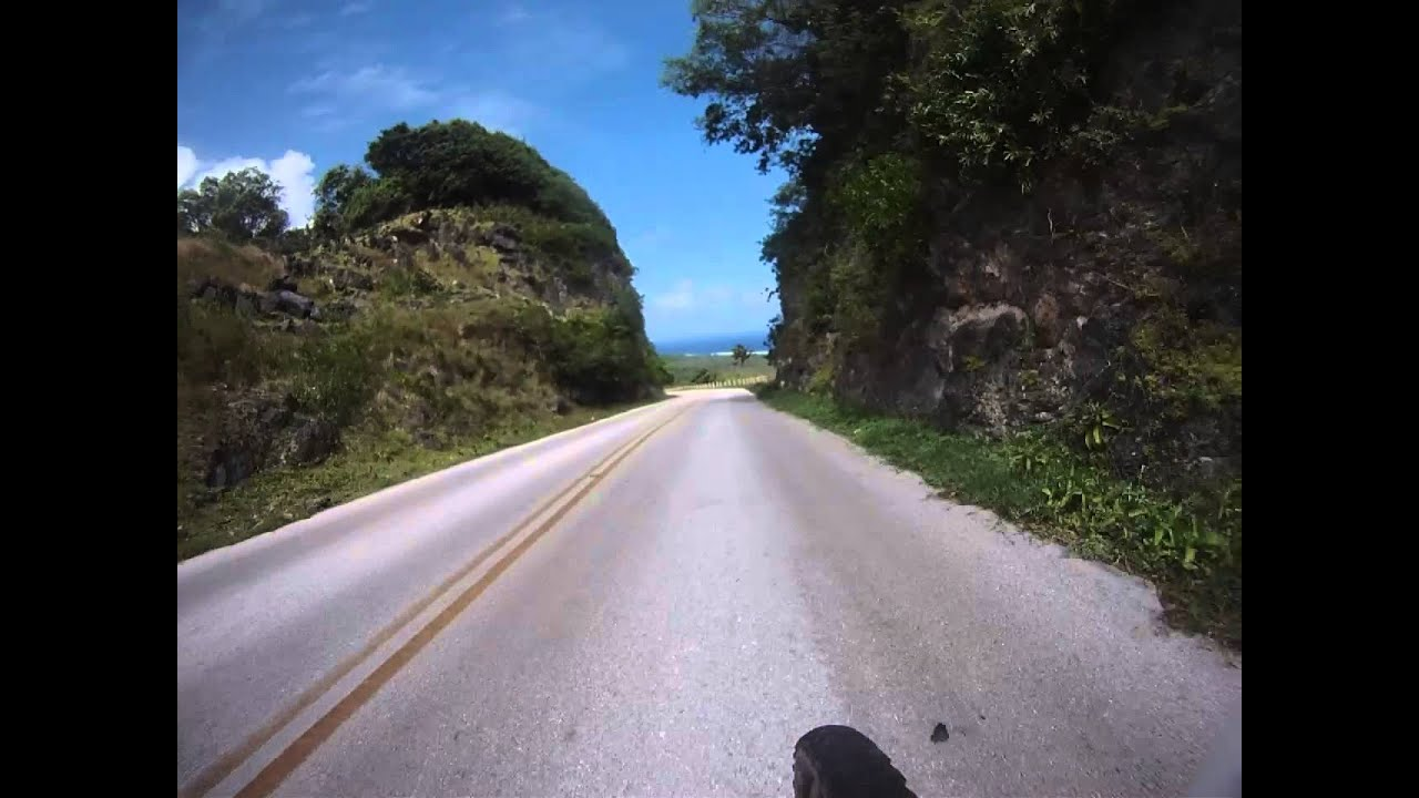 15 Inch Tires >> Riding down to Tarague beach on Guam - YouTube