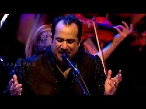 Rahat Fateh Ali KhanTere Bin Nahi LagdaLive Performance with symphony orchestra in the memory of