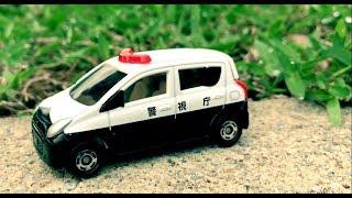 Tomica Suzuki Alto Police Car多美小汽車鈴木Alto警車