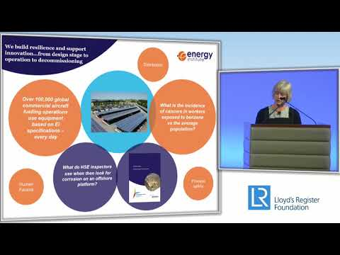 Global safety collaboration: the energy sector model | Louise Kingham