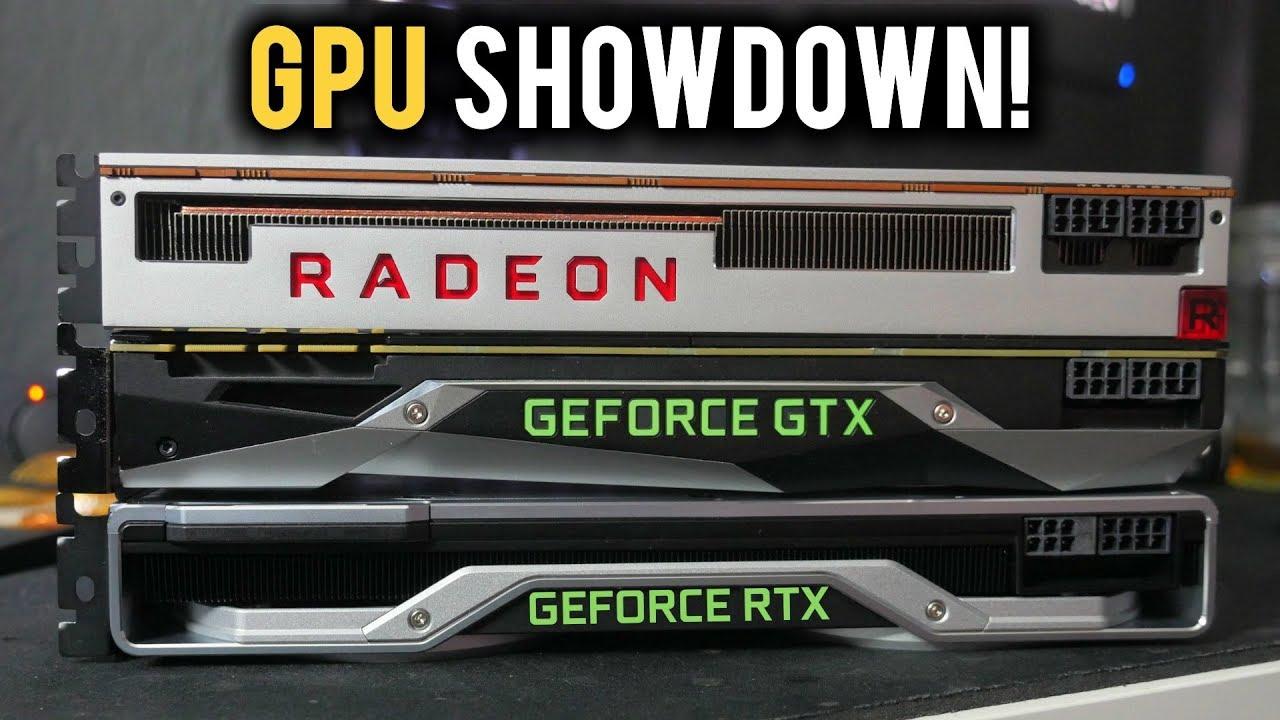Radeon Vii Vs Rtx 2080 Vs Gtx 1080 Ti Gpu Showdown Youtube