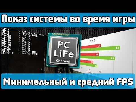 видео: Как мониторить систему во время игры? Как узнать минимальный и средний fps?