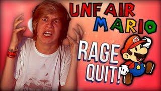 RAGE RAGE RAGE! - Unfair Mario - Puzzel Game