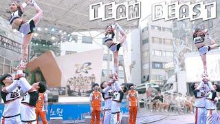 팀비스트 Team Beast   스턴트 Stunt 치어리딩 @ 치어리터스 주최 치어리딩 콘서트   Filmed by lEtudel