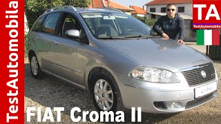 FIAT Croma II 1.9 Multijet TEST