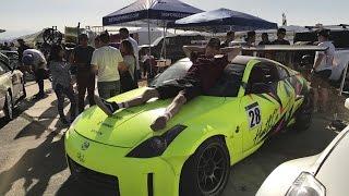 350z breaks down @ Spring Bash Drift Event