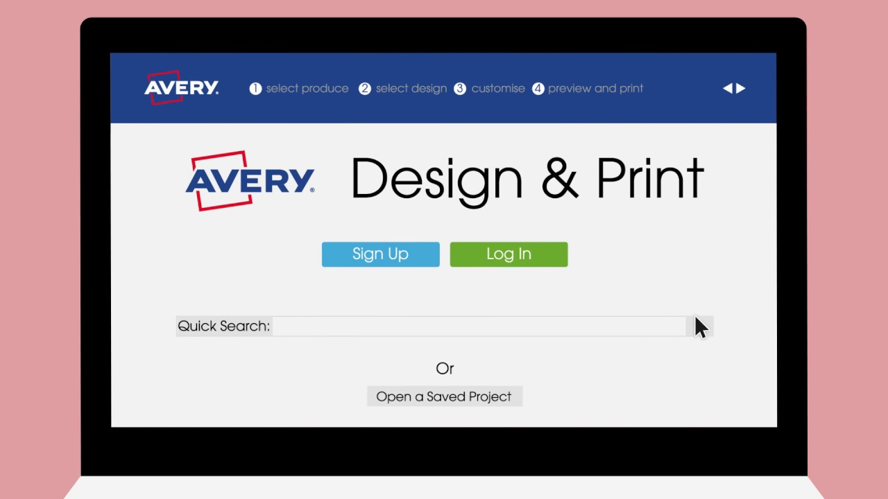 Avery Free Design Print Template Software Avery