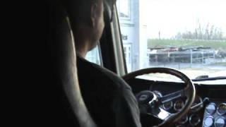 conduire la première fois un camion lourd classe 1 peterbilt
