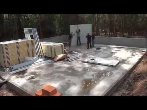 Montaje vivienda hormipresa doovi - Casas prefabricadas low cost ...