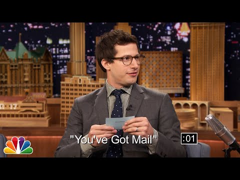 Andy Samberg and Jimmy Play 5-Second Summaries