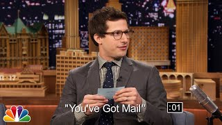 Jimmy and Andy Samberg get a few seconds to summarize movie plots to get each other to guess the title. Subscribe NOW to The Tonight Show Starring Jimmy ...