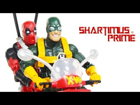 Marvel Legends Deadpool Corps with Vespa Scooter Vehicle Set Hasbro Action Figure Toy Review