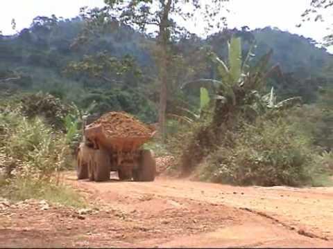 Ghana  - gold mine Kumasi