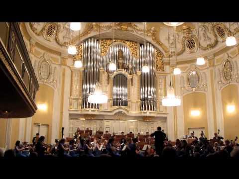 AYS June 2012 Salzburg Mozarteum concert