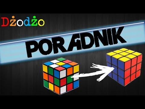 Jak ułożyć kostkę Rubika 3x3x3 (metoda podstawowa-LBL) | Tutorial PL