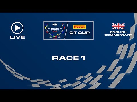 LIVE RACE 1 - GT - FIA MOTORSPORT GAMES 2019 - ENGLISH
