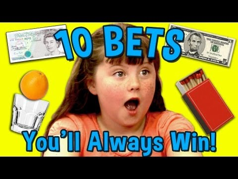 Thumbnail: Kids React to 10 Bets You Will Always Win