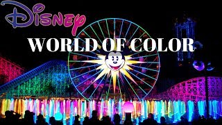 Disney WORLD OF COLOR 2017 in HD--AMAZING (FULL SHOW)