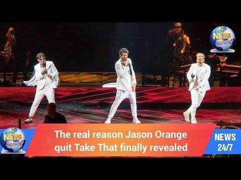 The real reason Jason Orange quit Take That finally revealed