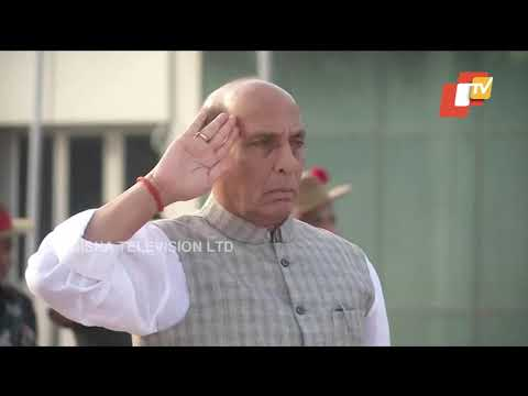 Defence Minister Rajnath Singh Pay Tribute To Slain Army Jawan