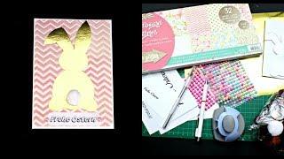 Ostern basteln | DIY Osterhasen Osterkarten basteln mit Papier | Ostergeschenke selber machen