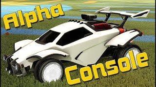ALPHA CONSOLE Rocket League Guide | Как получить альфа-сет?