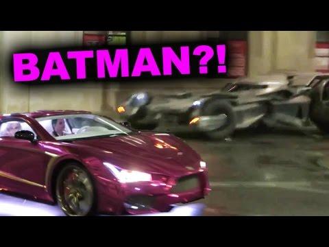 Batmobile Joker Car Chase on-set photos Review & Reaction!