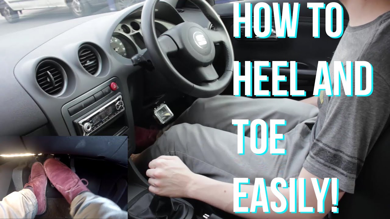 how to heel and toe rev match driving a manual car tips and tricks rh youtube com manual car stunts manual car driving tricks
