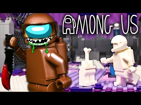 LEGO Мультфильм Among Us 4 - Polus  / Предатель среди нас / Stop Motion, Animation
