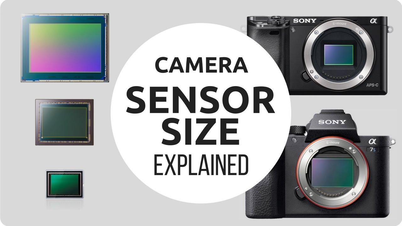 Camera Sensor Size Explained - YouTube