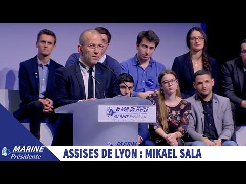 Discours de Mikaël Sala aux Assises de Lyon I Marine 2017