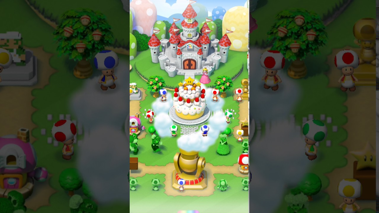 What Does Princess Peach S Cake Do In Mario Run