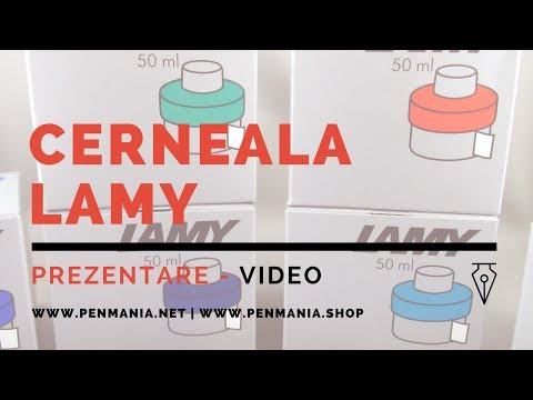 Cerneala LAMY - Gama standard