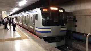 E217系クラY-4編成+クラY-109編成東京発車