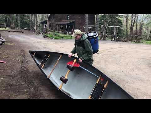 How To Portage a Canoe | Adirondacks