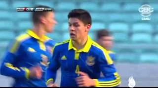 Товариський матч Азербайджан U-17 - Україна U-17 (3 березня 2016 р)
