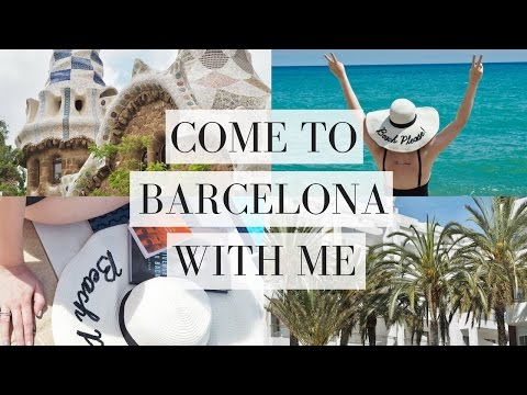 COME TO BARCELONA SPAIN WITH ME | TRAVEL | Emma Mumford