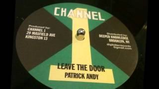 "12"" inch _ Patrick Andy - Leave The Door"