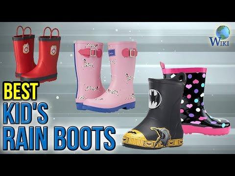 10 Best Kid's Rain Boots 2017