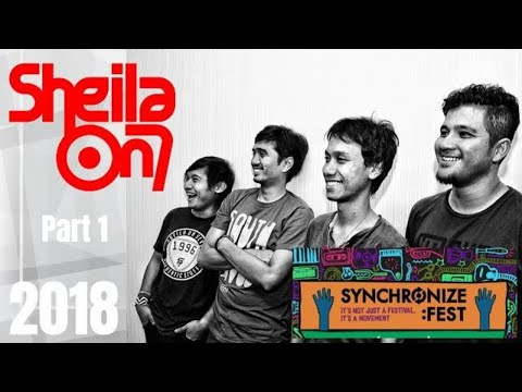 Sheila On 7, Synchronize Fest 2018, OPENING - PART 1