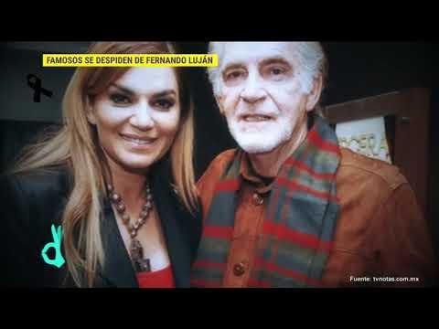 El mundo del espectáculo recuerda así al actor Fernando Luján | De Primera Mano