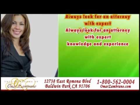 Bellflower Personal Injury Attorney Lawyer Auto Car Accident Omar Zambrano
